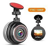 FLYLINKTECH DashCam, 1080P Full HD Auto Kamera, 170° Weitwinkelobjektiv, Mini...