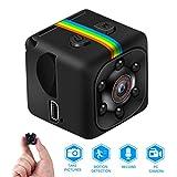 Mini Kamera,Full HD 1080P Tragbare Kleine Überwachungskamera, Mikro Nanny Cam...