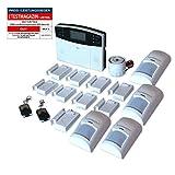 GSM Funk-Alarmanlage Set von Multi Kon Trade I Alarmanlage Komplettsystem M2B...