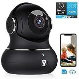 Überwachungskamera, Littlelf WLAN IP Kamera 1080P HD WiFi Kamera mit...