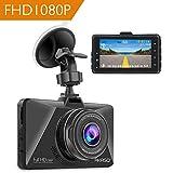 AKASO Full HD 1080P Dashcam Autokamera mit 3 Zoll LCD Bildshirm 170...