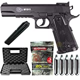 Airsoft Pack Colt 1911 Match Co2-Cybergun 180306- Semi Automatik (0,5 Joule)...