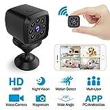 HEYSTOP Mini Kamera WiFi, Spion Versteckte Kameras WLAN 1080P Überwachung...