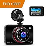 apeman Dashcam Full HD Autokamera 1080P DVR mit 170° Weitwinkelobjektiv,...