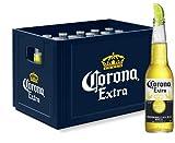 Corona Extra Premium Lager Flaschenbier, MEHRWEG (24 x 0.355 l) im Kasten,...