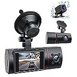 RaMokey 3 Lens Dashcam WDR HD 1080P Autokamera mit IR Nachtsicht 170°...