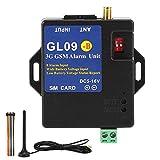 Deror GSM-Alarmsystem mit 8 Eingängen, drahtloses Alarmmodul GL09‑B 3G für...