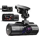 VANTRUE N4 3 Lens Dashcam 1440P + Dual 1080P Kamera Auto, 4K 3840x 2160P vorne,...