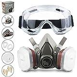 Gesichtsschutz (Halbseitig) RHINO Smart Solutions Anti-Staub Wiederverwendbar...