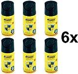 6 Stück Pfefferspray, Pepperspray, Abwehrspray, 6X 40ml