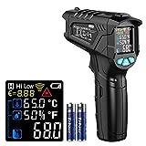 Infrarot Thermometer, Dr.meter Digital Laser Infrarot Thermometer berührungslos...