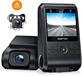 APEMAN Dashcam Autokamera Dual Lens Full HD 1080P Vorne und 720p Hinten Kamera...