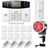 YISEELE Alarmanlage Haus GSM Funk - Alarmsystem mit fürs Home Security,...