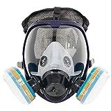 Komplette Anzug 6800 Malerei Spraying Full Face Atemschutzmaske Gasmaske...