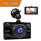 APEMAN Full HD 1080P Dashcam Autokamera Video Recorder mit 170°...