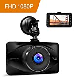 APEMAN Full HD 1080P Dashcam Autokamera Video Recorder mit 170°...