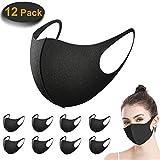 12 Stück Mundschutz Maske, ACMETOP Staub Gesichtsmaske, Fashion Unisex Face...