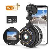 THIEYE WiFi Dashcam 1080P Full HD AutoKamera Video Recorde mit 32G SD Kart für...