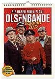 """Olsenbande Wandkalender 2022 + DVD """"Die Olsenbande stellt die Weichen"""""""