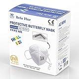 AUPROTEC 20 Stück FFP2 Maske MINI Atemschutzmaske EU CE 0370 Zertifiziert...