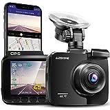 AZDOME 4K WiFi Dashcam mit GPS Autokamera mit 170° Weitwinkelobjektiv,...